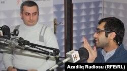 soldan sağa: Ramil Qafarov və Əli Novruzov