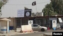 Իրաք - «Իսլամական պետության» դրոշը Մոսուլում, հուլիս, 2014թ․