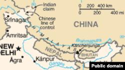 Спорные участки китайско-индийской границы