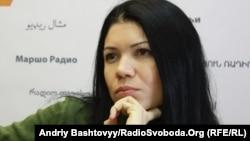 Вікторія Сюмар у студії Радіо Свобода