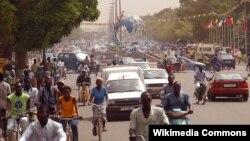 Буркина-Фасо астанасы Уагадугу қаласында. (Көрнекі сурет.)