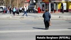 На улице в Кишиневе. Иллюстративное фото.