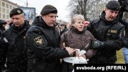Задержания в Белоруси, 25 марта 2017 год