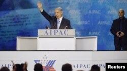 Біньямін Нетаньягу на проізраїльській конференції у Вашингтоні, 2 березня 2015 року