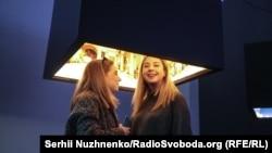 Куб з пейзажем України. 11 лютого 2020 року. «Київ-Пасажирський»