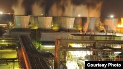 Power Plant in Ahwaz, Khuzestan Province. FILE PHOTO.