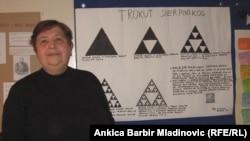 """Ankica Benček, profesorica matematike u osnovnoj školi """"Gustav Krklec"""", Zagreb, 17. veljače 2011. Foto: Ankica Barbir Mladinović"""
