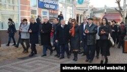 День пам'яті євреїв і кримчаків у Сімферополі 11 грудня 2019 року