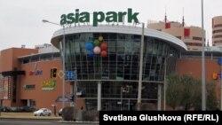 """Астанадағы """"Азия-парк"""" сауда және ойын-сауық орталығы (Көрнекі сурет):"""