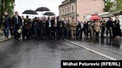 Sjećanje na poginule vojnike JNA u Dobrovoljačkoj, 3. maj 2016.