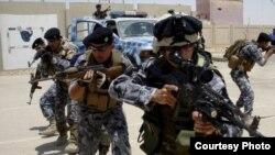 عناصر من قوات مكافحة الارهاب والرد السريع(الارشيف)