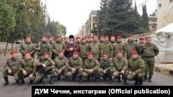 Муфтий Межиев Салахь цхьаьнакхетта Шемахь Нохчийчуьрчу эскархошца.