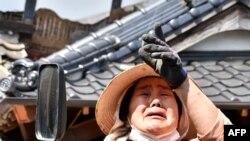 Землетрясение в Японии: пострадали более 860 человек