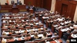 Deputetët në Kuvendin e Maqedonisë së Veriut - Foto nga arkivi.