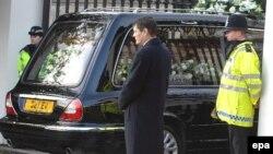 Похорони співробітника російських спецслужб Олександра Литвиненка в Лондоні, 7 грудня 2006 року