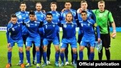 Өзбекстанның футболдан ұлттық құрамасы (Көрнекі сурет).