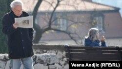 Najave povećanja plata i penzija kao najava izbora: Penzioneri na Kalemegdanu