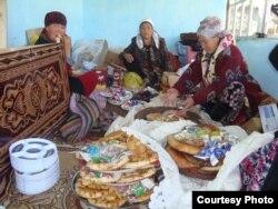 Той кезіндегі қарбалас. Ноокат ауылы, Ош облысы, Қырғызстан. 25 қыркүйек 2012 жыл. (Көрнекі сурет.)
