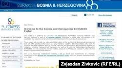 Web stranica EURAXESS-a
