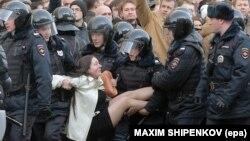Затримання на акції протесту в Москві, 26 березня 2017 року