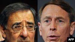 CIA chief Leon Panetta (left) and General David Petraeus