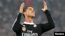 کرستیانو رونالدو از تیم ریال مادرید