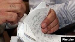 Քվեաթերթիկների հաշվարկ, արխիվ
