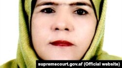 leading lawyer Anisa Rasooli is the first ever woman to be nominated Afghan woman to be nominated for the Supreme Court. (file photo)