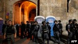 Сотрудники органов безопасности Израиля. Иллюстративное фото.