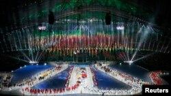 Սոչիի Օլիմպիադայի փակման արարողությունը, 23-ը փետրվարի, 2014թ․