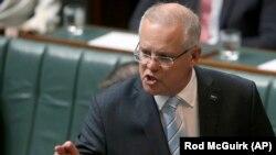 Kryeministri i Australisë, Scott Morrison.