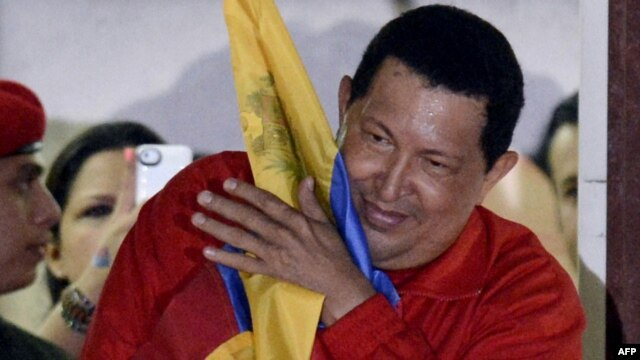 Hugo Chavez was reelected president of Venezuela on October 7.
