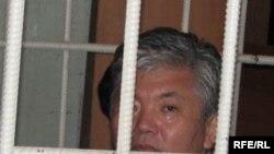 Alikbek Jekshenkulov during his trial in June 2009