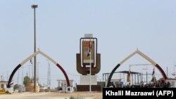 У контрольно-пропускного пункта у иракской границы.
