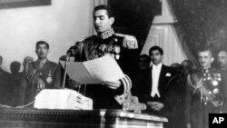 سخنرانی شاه در افتتاحیه نخستین دوره از مجلس سنا در ۲۰ بهمن ۱۳۲۸