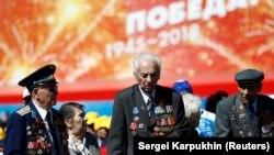Ratni veterani na proslavi Dana pobjede u Moskvi