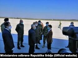 Predsednica Vlade Srbije Ana Brnabić i ambasador Ruske Federacije Aleksandar Bocan Harčenko