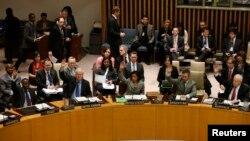 ԱՄՆ - ՄԱԿ-ի Անվտանգության խորհուրդը քվեարկում է Հյուսիսային Կորեայի հարցով, Նյու Յորք, 7-ը մարտի, 2013թ.