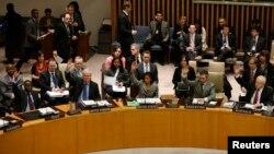 جلسة تصويت لمجلس الأمن الدولي