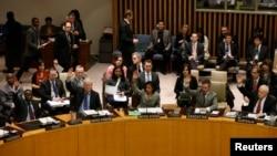 Këshilli i Sigurimit i Kombeve të Bashkuara duke votuar sanksionet shtesë ndaj Koresë së Veriut.