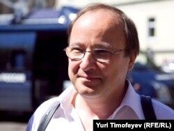 Өнертанушы Андрей Ерофеев. Мәскеу, 12 шілде 2010 жыл.