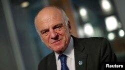 Давид Набарро – специальный посланник генерального секретаря ООН по вопросам борьбы с лихорадкой Эбола