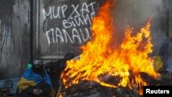 В Киеве на Майдане отказываются выполнять закон об амнистии