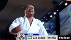 Uzbekistan - Abdullo Tangriev, Uzbek judoka. He won a silver medal in the +100 kg category of the 2008 Olympic Games, and won a gold medal in World championship in 2011 in Tyumen, Russia, undated