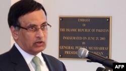 Поранешниот пакистански амбасадор во САД Хусаин Хакани.