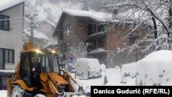 Snow in Nova Varos