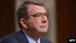 Эштон Картер во время слушаний в сенатском комитете по вопросам вооруженных сил