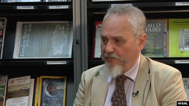 Russian historian Andrei Zubov in 2014