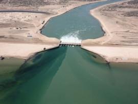北aral海的kokaral大坝