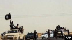 Pamje e militantëlve në një lokacion në Irak